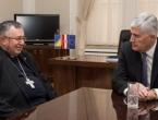 """Kardinal Puljić i Dragan Čović traže izmjene izbornog zakona u BiH jer """"Hrvati nisu jednakopravni"""""""