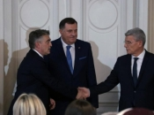 Komšić i Džaferović žele tužiti RH zbog Pelješkog mosta, Dodik se usprotivio