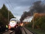 Zapalio se brzi vlak u Njemačkoj