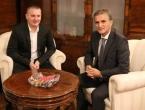 Grubeša se sastao s hrvatskim ministrom državne imovine Goranom Marićem