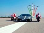 Što se dogodi kada se na stazi nađu Lamborghini, Ducati i avioni?