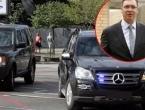 Presjekli kolonu i zabili se Bentleyjem u Vučićevo vozilo