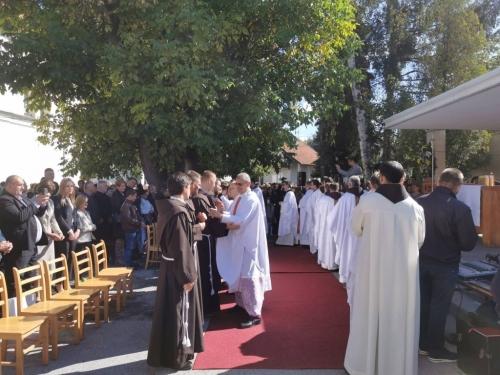Fra Mislav Jozić i fra Antonio Baketarić položili svečane zavjete