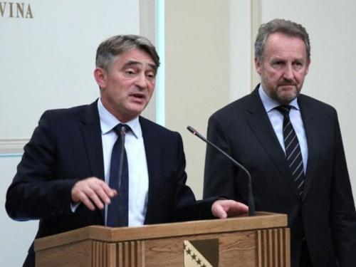 Komšić i Izetbegović otvorili razgovore o formiranju vlasti