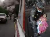 Gvatemala slavi hrabrog policajca i 'čudo od djeteta'