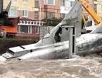 Sovjetske MIG-ove odnijela rijeka u olujnom nevremenu