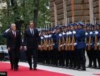 Članovi Predsjedništva BiH svečano dočekali predsjednika Srbije Vučića
