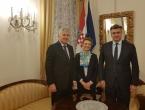 Čović i Plenković: Sve probleme oko Izbornoga zakona riješiti u duhu Daytona