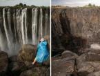 Presušili Viktorijini slapovi: Ovo smo prvi put vidjeli!