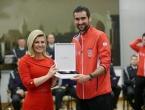 Predsjednica Hrvatske odlikovala hrvatske tenisače