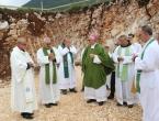 FOTO: Blagoslov gradilišta i kamena temeljca nove filijalne crkve na Risovcu
