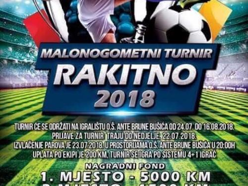Malonogometni turnir ''Rakitno 2018.''