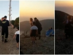 VIDEO  Vatrogasci iz Komiže na rukama nosili osobu s paralizom na brdo da vidi zalazak sunca