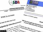 Sa SBB-om ne ide, a SDA šuti