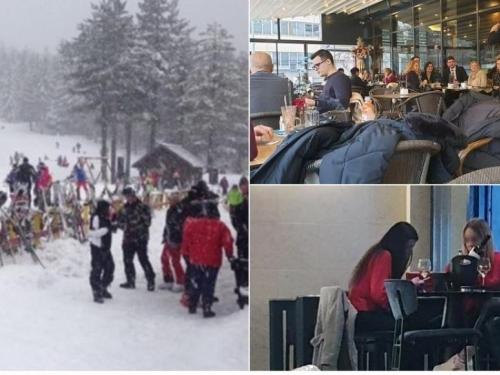 Staro normalno u Hercegovini: restorani i kafići puni, cvate zimski turizam, cjepiva nema