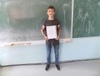 Daniel Škarica učenik generacije u Prozoru