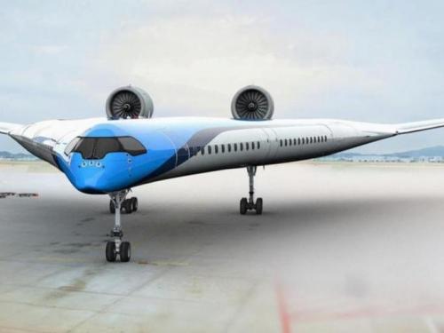 Ovo je avion budućnosti
