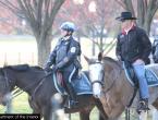 Novi ministar unutarnjih poslova SAD-a na konju dojahao na posao