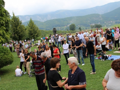 FOTO/VIDEO: Velika Gospa u župi Rama Šćit 2018.