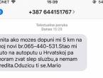 Ne nasjedajte na lažne SMS poruke koje kruže ovih dana!