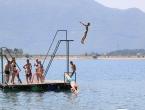 FOTO/VIDEO: Ramci spas od vrućina pronašli na Ramskom jezeru