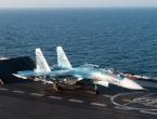 Ruski borbeni zrakoplov promašio nosač i pao u Sredozemno more