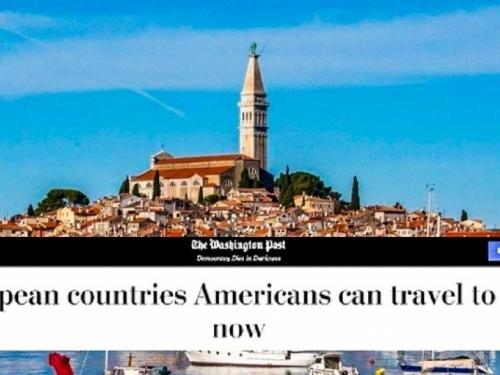 Objavljen popis 7 zemalja u koje Amerikanci mogu putovati, među njima je Hrvatska