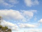 Sunčano uz malu do umjerenu naoblaku, padaline za vikend