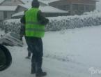 Zbog snijega otežano odvijanje prometa u BiH