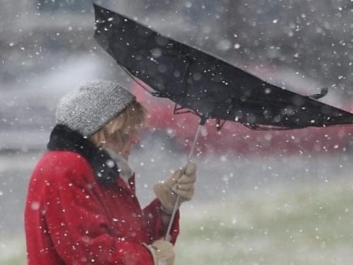 U Hercegovini kiša i jaki udari juga
