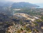 Pogledajte Split iz zraka nakon požara