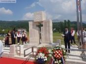 Tomislavgrad: Otkriven spomenik poginulim braniteljima iz 1. i 2. svjetskog te Domovinskog rata