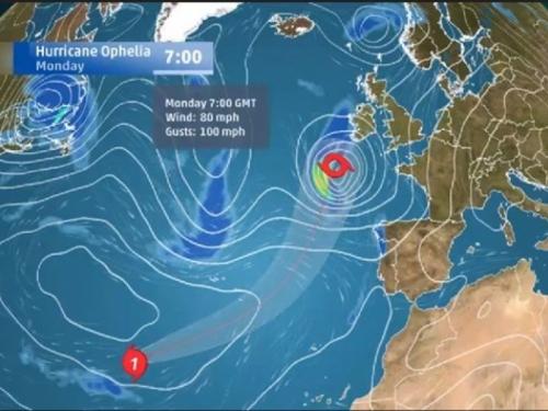Stoljetni rekord: Formirao se novi uragan nad Atlantikom