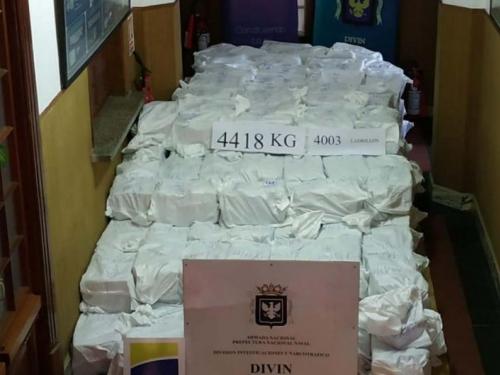 Policija u Urugvaju zaplijenila rekordnu količinu kokaina