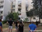 Mostar: Muškarac zapalio stan; Policija ga iz buktinje izvela s lisicama na rukama