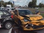 Sudar u Beogradu: Zlatni Porche uništen nakon prometne nesreće s Polom