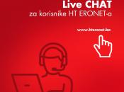 Live chat za korisnike HT ERONET-a