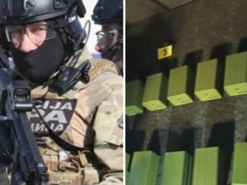 Istražitelji SIPA-e presreli vozilo i u prtljažniku našli 46 kilograma eksploziva