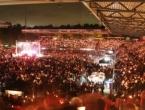 Božić na stadionu: 30 tisuća navijača pjevalo božićne pjesme