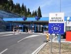 Hrvatska pooštrila uvjete za prelazak granice