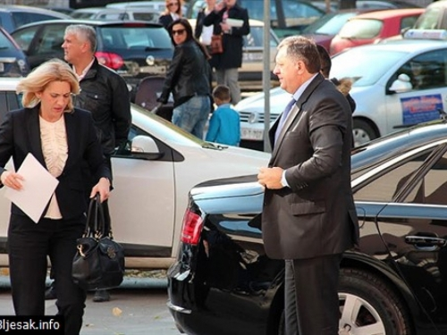 Dodik ispitan: Unatoč galami, mirno došao u Tužiteljstvo