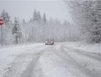U višim planinskim predjelima ugažen snijeg i poledica