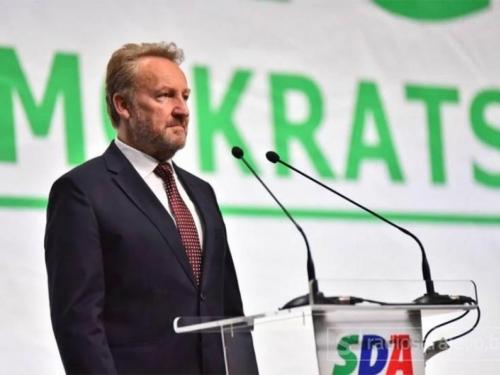Bakir Izetbegović ponovno predsjednik SDA