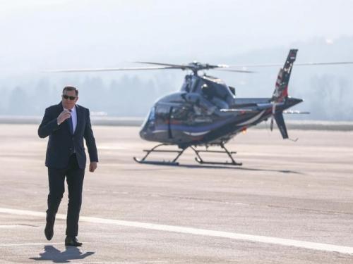 Dodik nakon vojne vježbe: Miran razlaz u BiH 'jedina opcija'