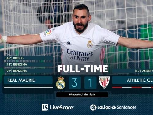 Realu četvrta pobjeda u nizu protiv jakih protivnika