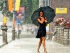 Očekuju nas kiša, pljuskovi i grmljavina u cijeloj zemlji