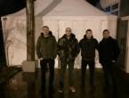 Zdravstveni radnici postavili šator ispred zgrade Vlade HNŽ