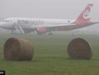 Zrakoplov njemačke kompanije Air Berlin izletio s piste nakon slijetanja