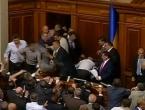 Tuča u ukrajinskom parlamentu