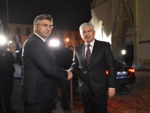 Plenković i Čović nakon sastanka poslali poruku ohrabrenja